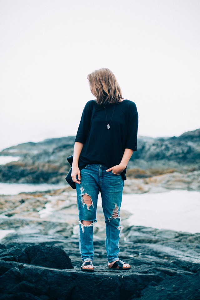 Oversized and casual vacation style on Vancouver Style and fashion blog, In My Dreams.