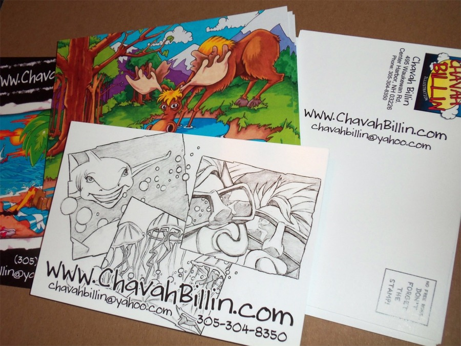promotional post cards