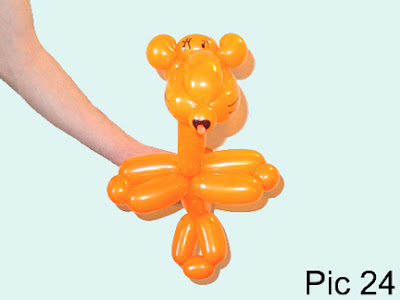 how to make a balloon animals step by step instructions
