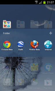Samsung Galaxy S3 HD go launcher theme