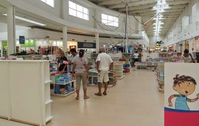 Feira de Livros no Shopping Grande Rio