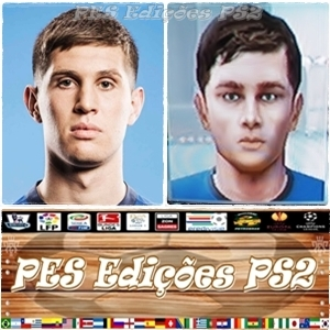 John Stones (Everton) PES PS2