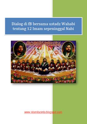 Dialog di fB bersama ustadz wahabi tentang 12 imam sepeninggal nabi