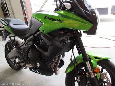 Motorcycle, 650, Kawasaki, CCRV