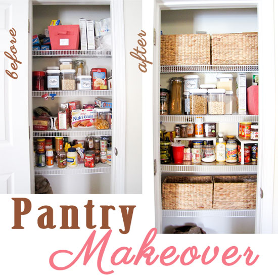 Organizing Pantry Shelves Realistically Organized Pantries: IHeart Organizing: Reader Space: Sweet & Simple Organizing