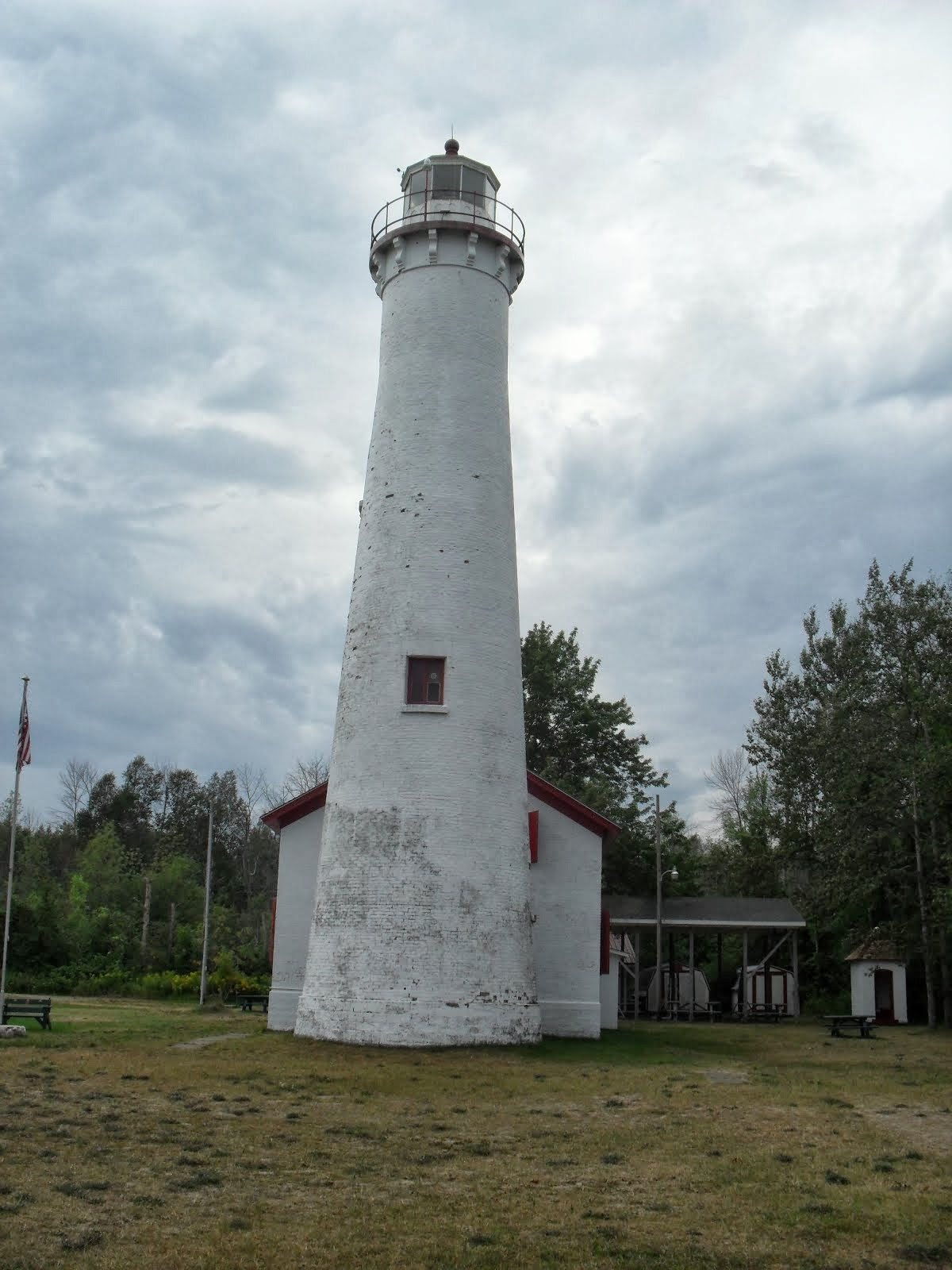 Photos of some lighthouses on the Great Lakes-their storied history of guiding ships to safety.