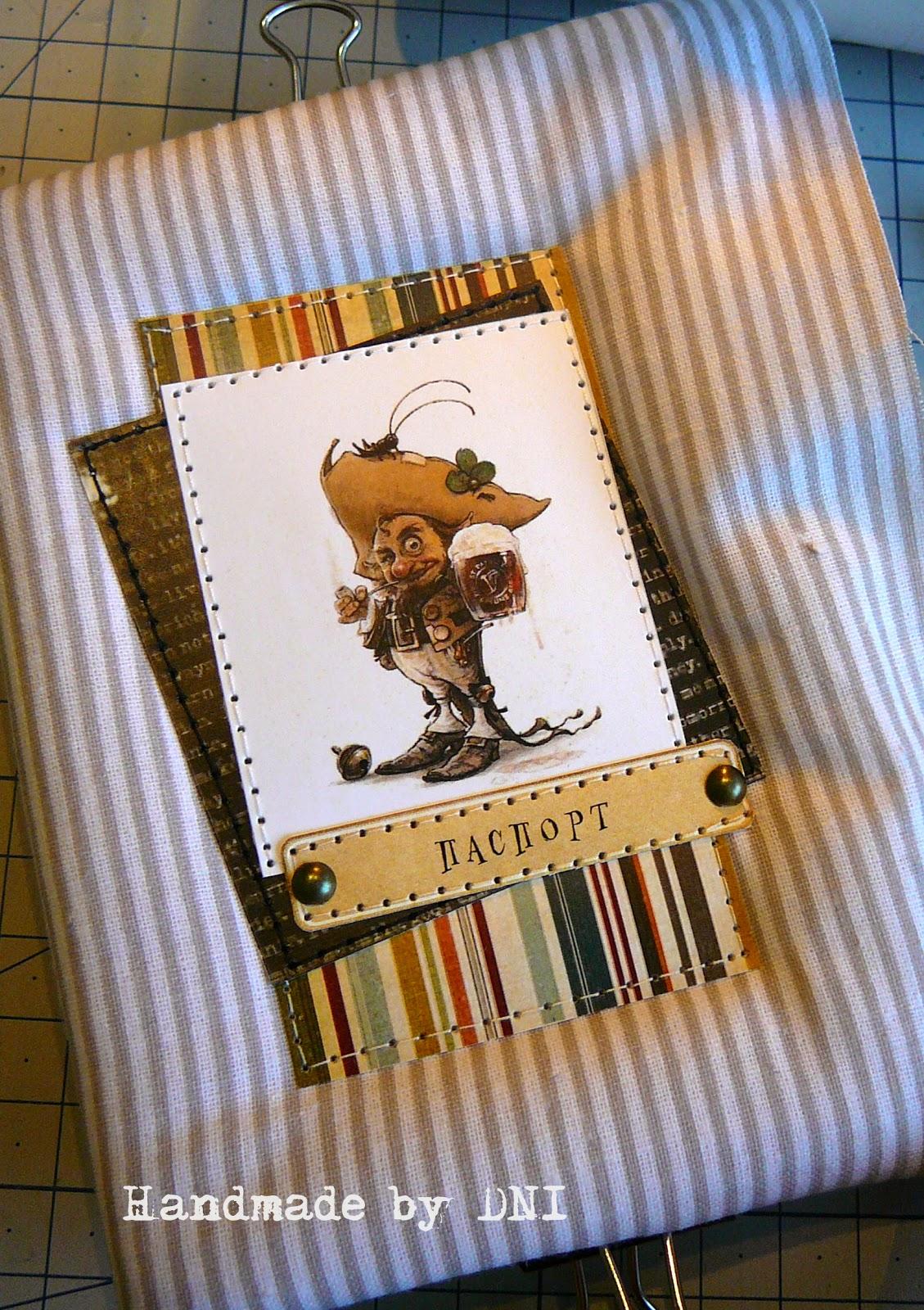 Мягкая обложка на паспорт своими руками мастер класс 61