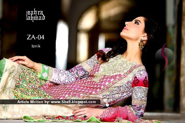 Zahra Ahmad Best Eid 2015 Dresses