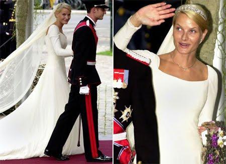 Сватбената рокля на Принцеса Мете-Марит, Норвегия