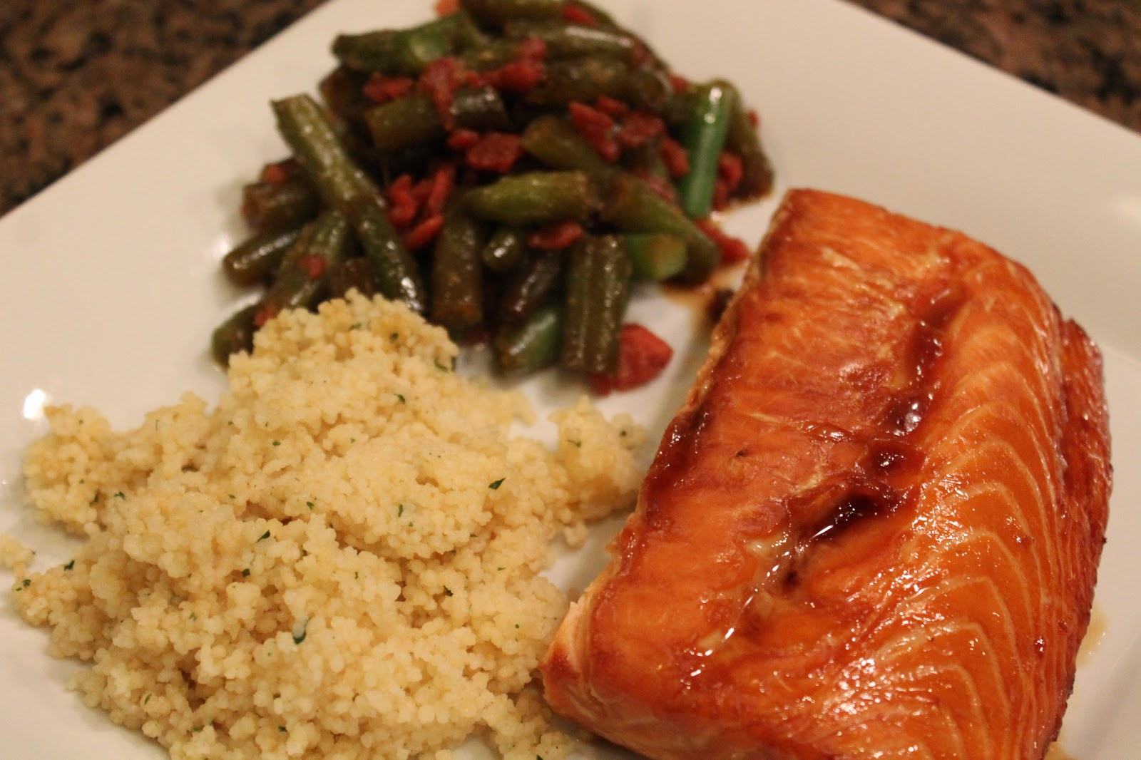 Carolina Charm: Soy Glazed Salmon Filets {Updated}