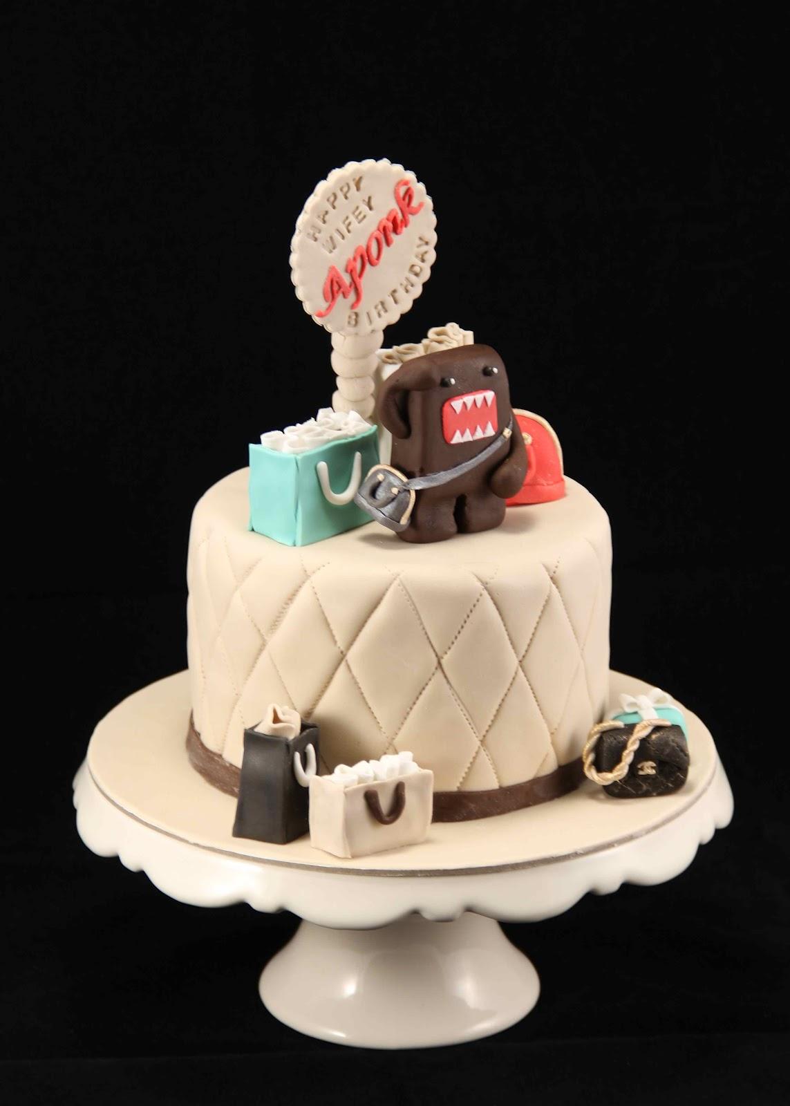 Bakerz Dad Domo Fashionista Cake
