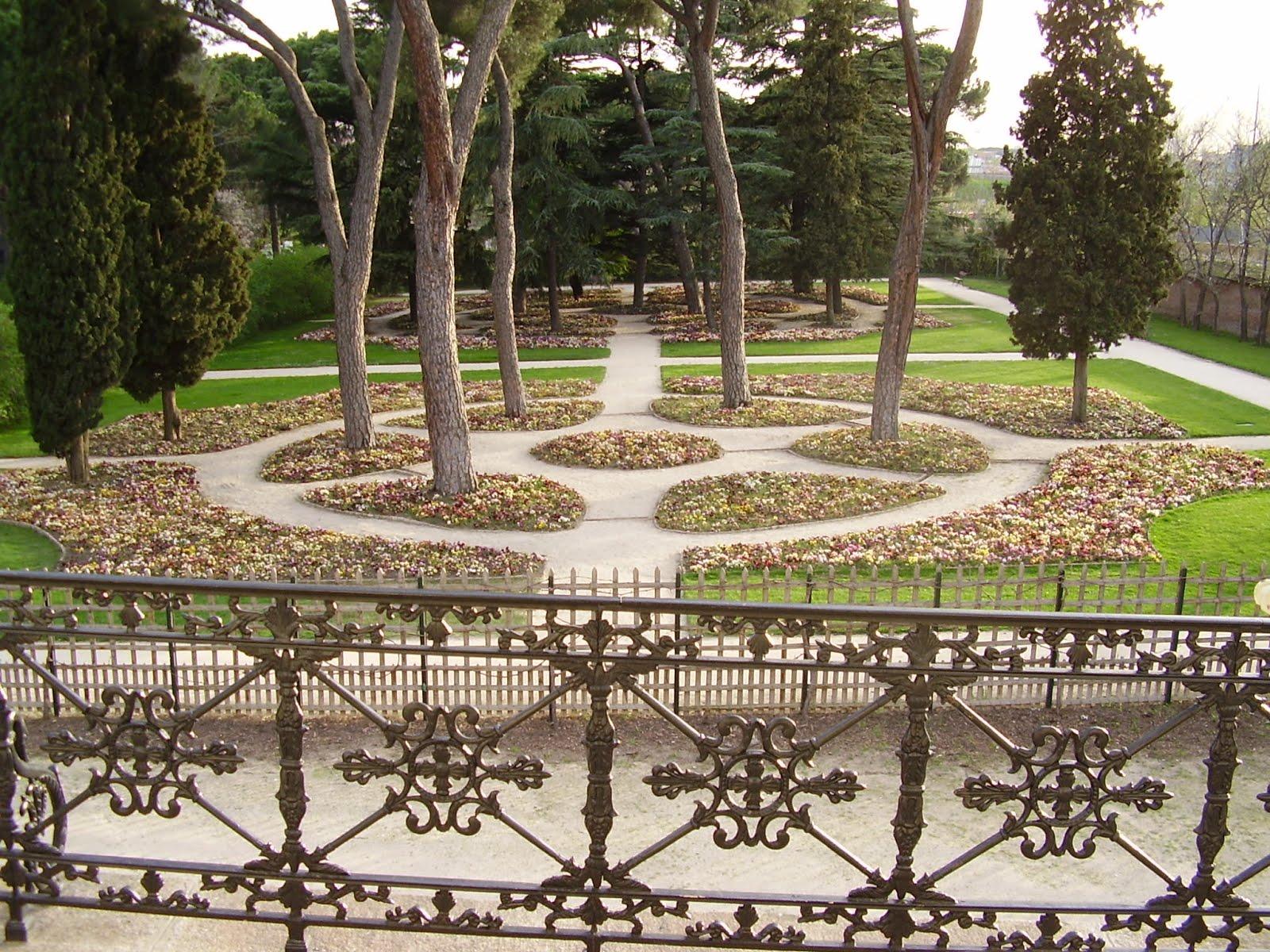 Paisajes urbanos matritenses obras urban sticas en poca for Jardin historico el capricho paseo alameda de osuna 25