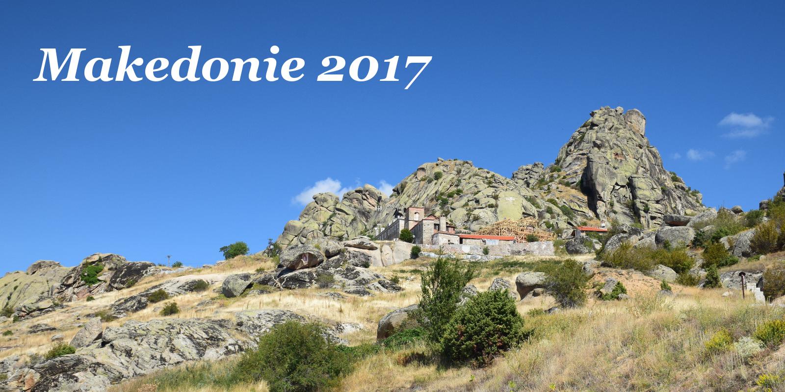 Makedonie 2017