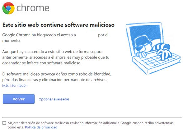 google chrome virus blog