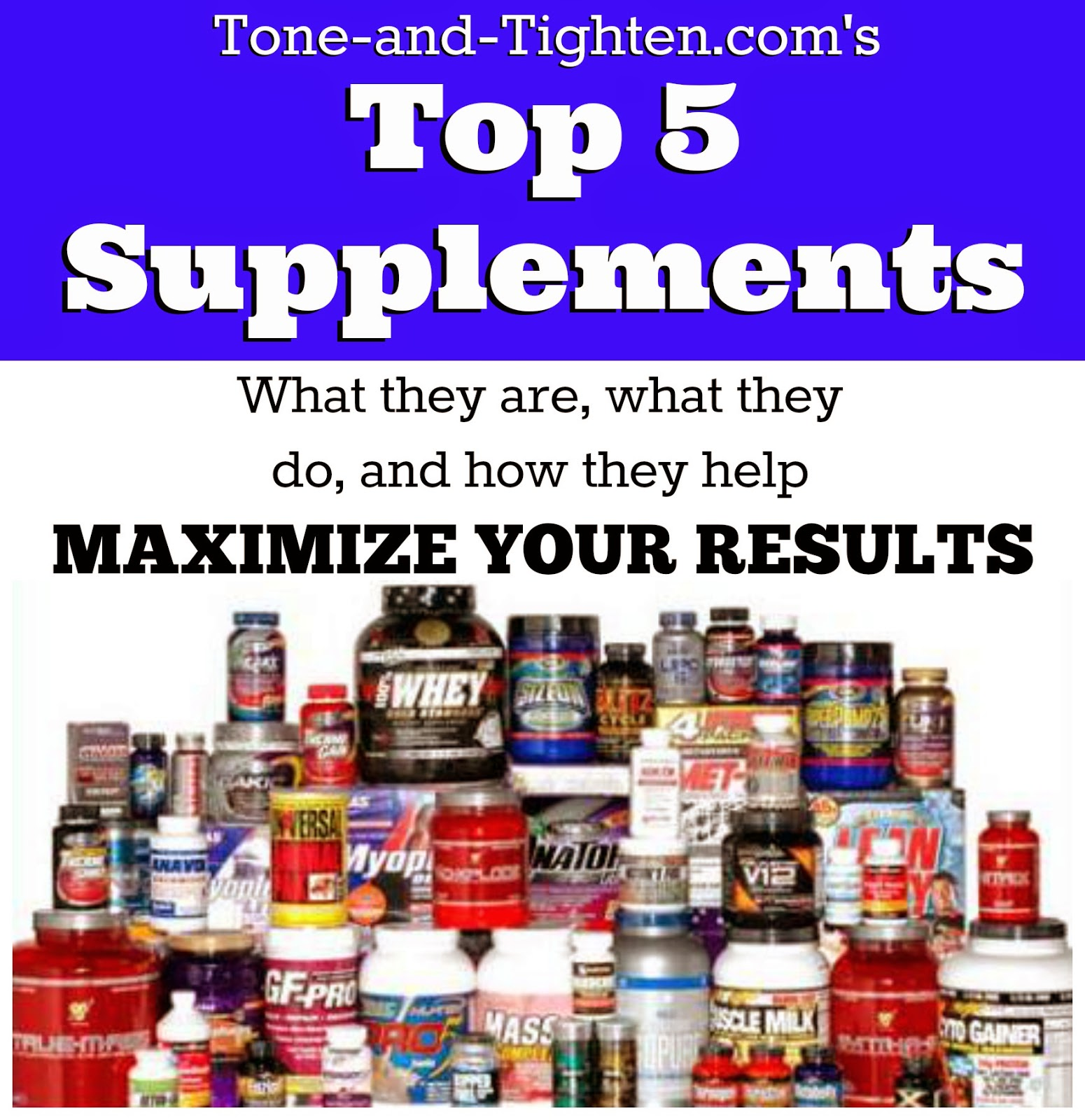 Best workout supplements to lose weight and gain muscle up