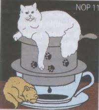 Trào lưu quán cafe mèo nở rộ.