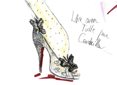 Christian Louboutin sketch