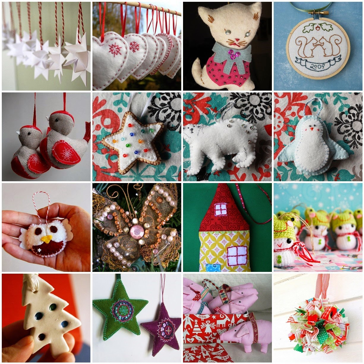Quilt Guild Swap Ideas : Houston Modern Quilt Guild: Holiday Ornament Swap at the The Christmas Party!