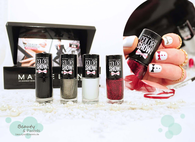 Nageldesign mit Maybelline Suit Style 1