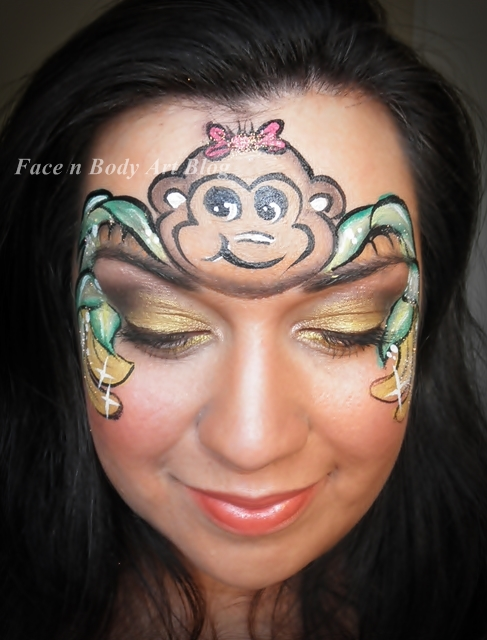 1000  images about costumes and face paint on Pinterest | Monkey ...