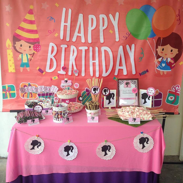 Birthday Candy Booth