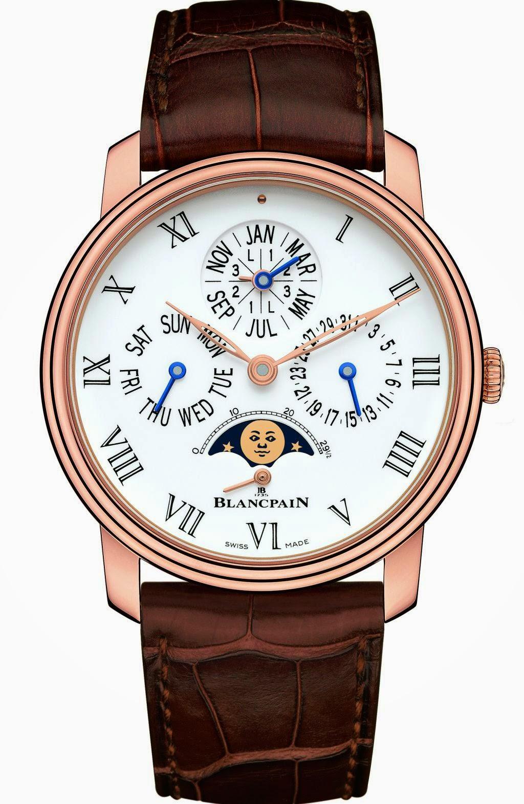 Blancpain Villeret Perpetual Calendar watch replica
