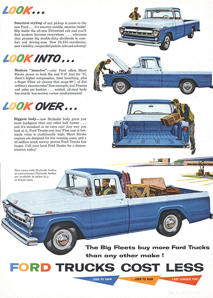 Ford Old Ads Gallery