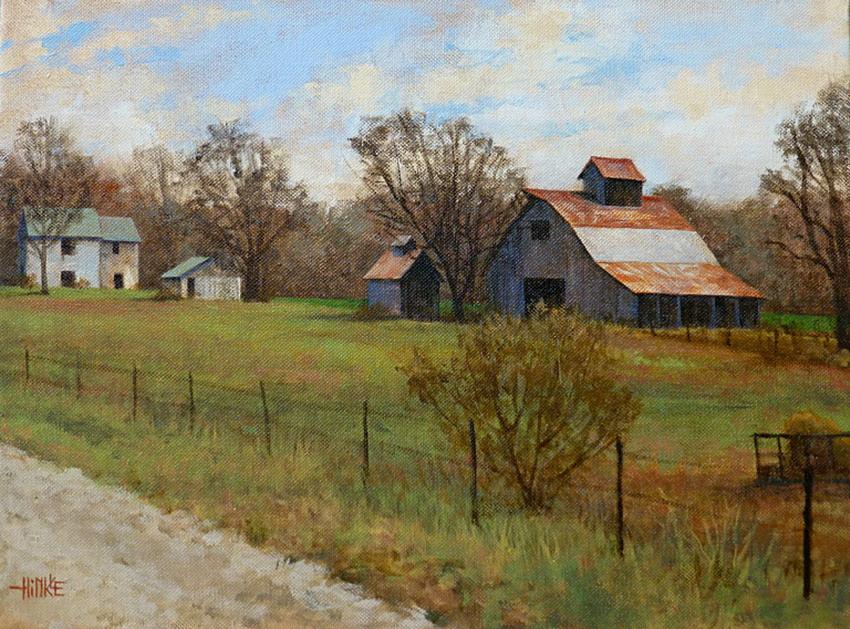 Im genes arte pinturas paisajes del campo con caminos - Paisajes de casas de campo ...
