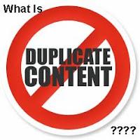 Duplicate Content Blog
