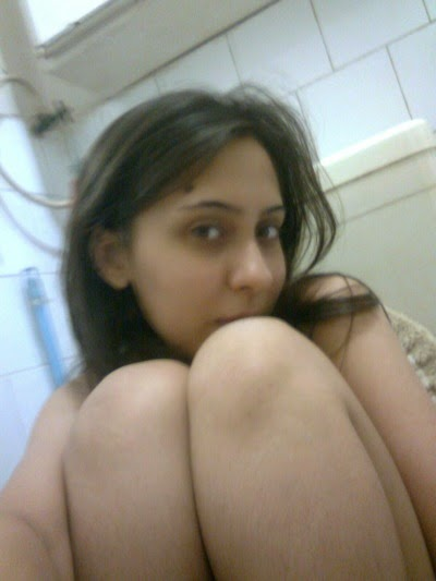 Beautiful Indian Girl Playing around Nude in Shower - 3