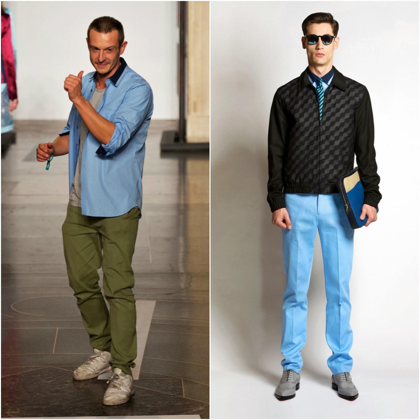 00O00 Menswear Blog: Jonathan Saunders Spring Summer 2014