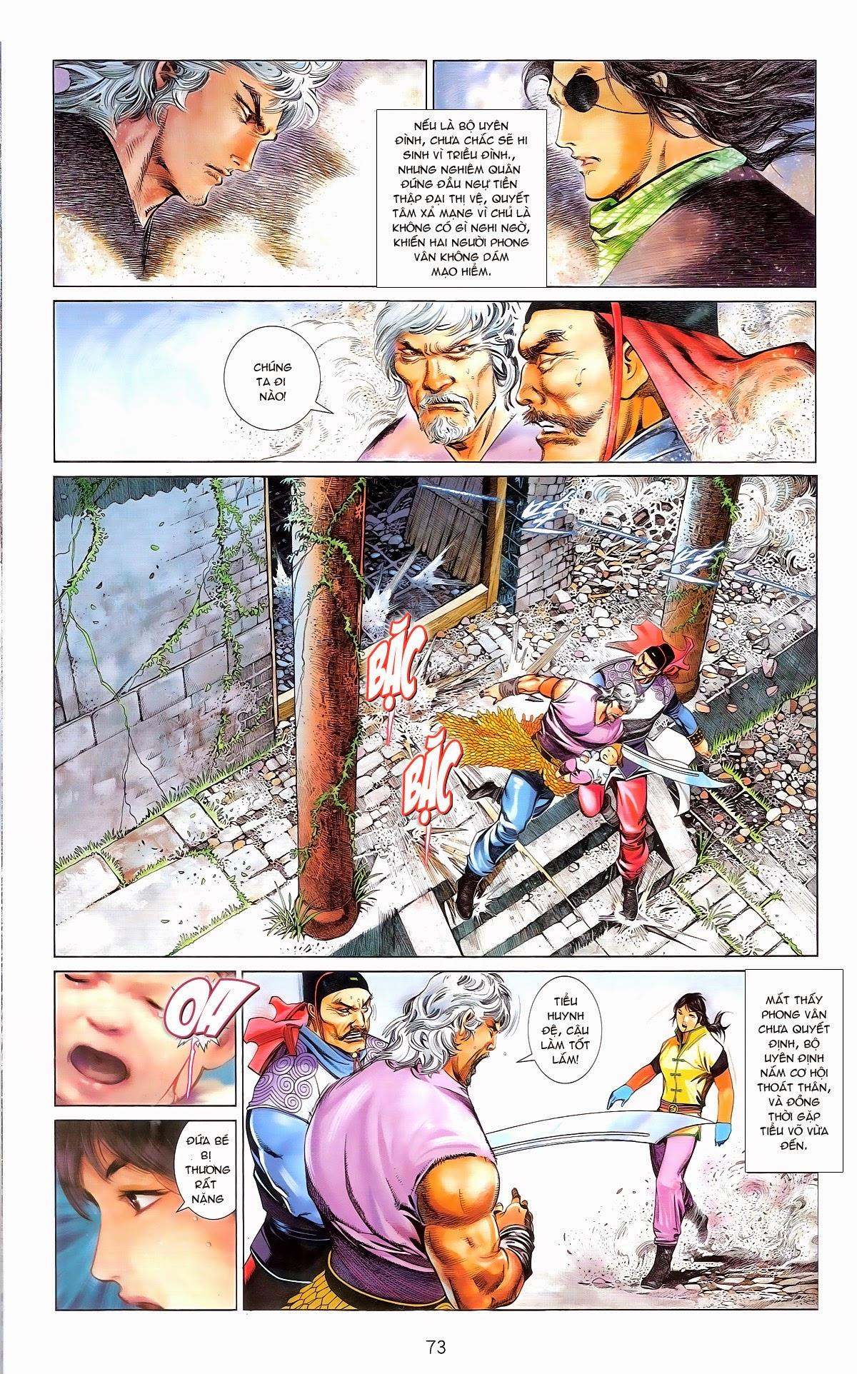 Phong Vân chap 674 – End Trang 75 - Mangak.info