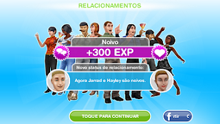 the sims freeplay relacionamentos