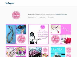 Tia Keko en Instagram