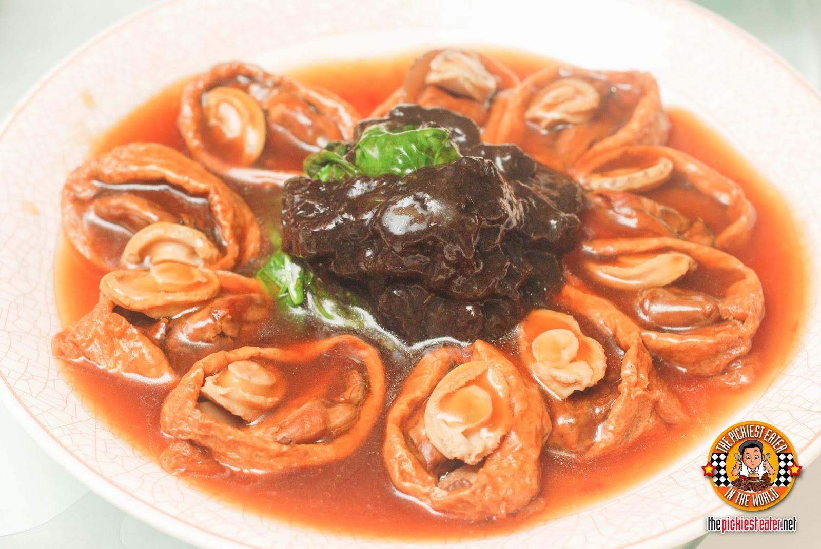 Yee Sang Shang Palace Makati Shang braised baby abalone