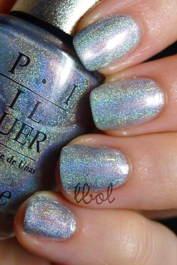 OPI DS Sapphire Swatch