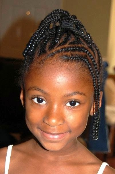 Easy Little Black Girl Wedding Hairstyles