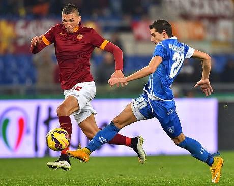 Liga Italia : AS Roma 1-1 Empoli