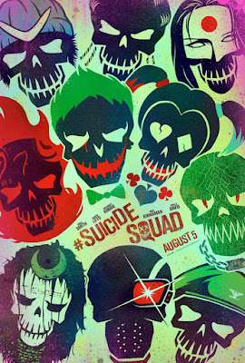 Suicide Squad Theatrical One Sheet Character Movie Poster Set