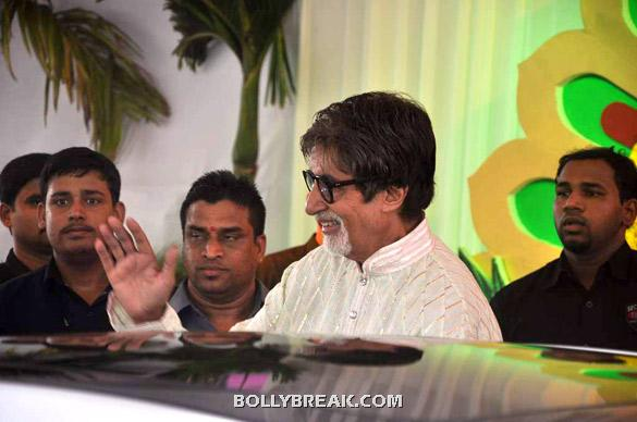 Amitabh Bachchan - (5) - Esha Deol Wedding Pics 2012 - Full Set