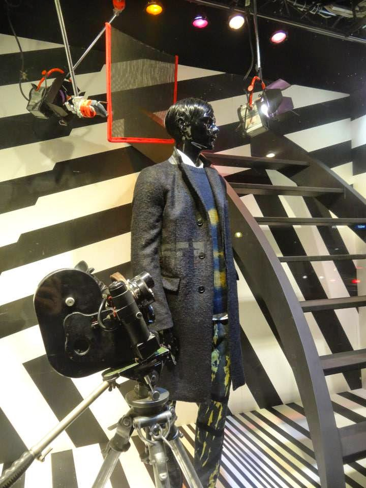 Selfridges Shop Window 2014 jul-aug Dries van Noten - Master of the Eclectic