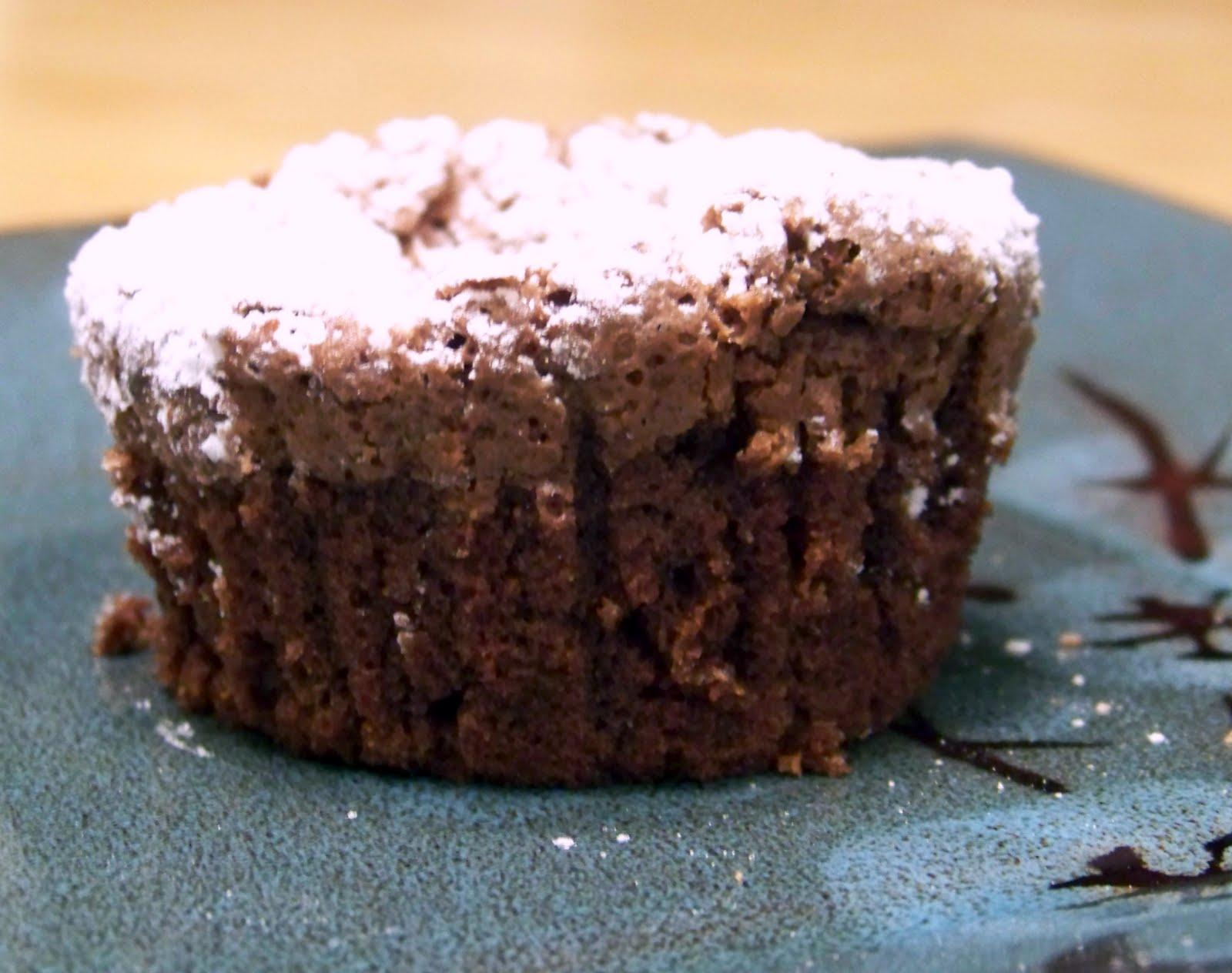 Whimsically Homemade: Flourless Chocolate Cupcakes