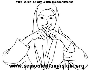 TIPS ISLAM:SHAUM YANG MENYENANGKAN