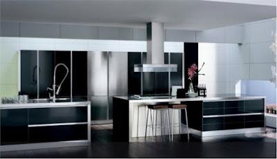 fekete konyhabútor