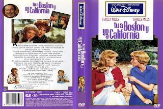 Carátula: Tú a Boston y yo a California (1961) The Parent Trap
