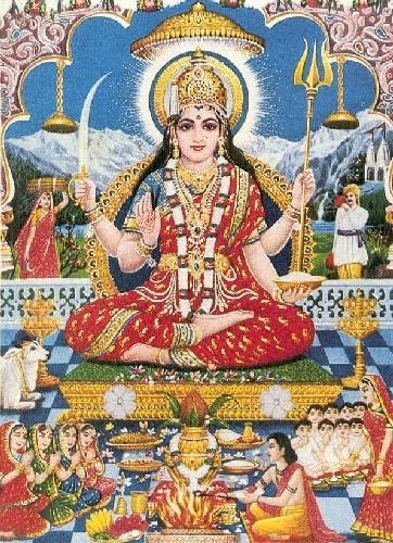 雪山女神 Lord Parvati