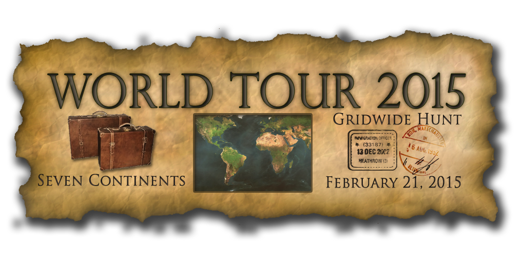 World Tour 2015 Gridwide Hunt