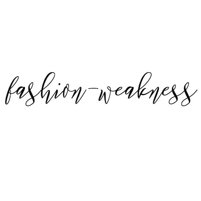 fashion-weakness