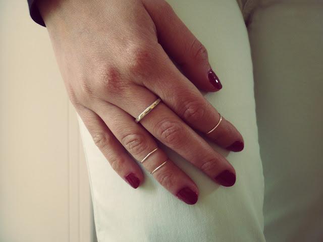 DIY knuckle ring