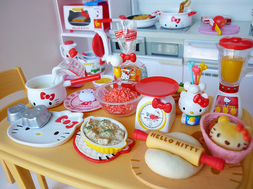 Hello Kitty Toy Food : Hello kitty kitchen appliances forever